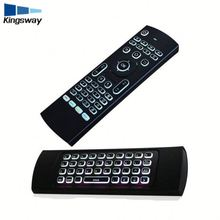 Backlight Wireless Remote Qwerty Keyboard for Android TV Box 2.4G Air Mouse MX3 Keyboard Groscope Built in