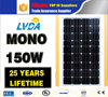150w solar panel for solar power system 150w best price mono solar panel