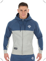 fitness thermal technical performance zip pullover hoodie gym jacket bodybuilding outfit tops men made in China