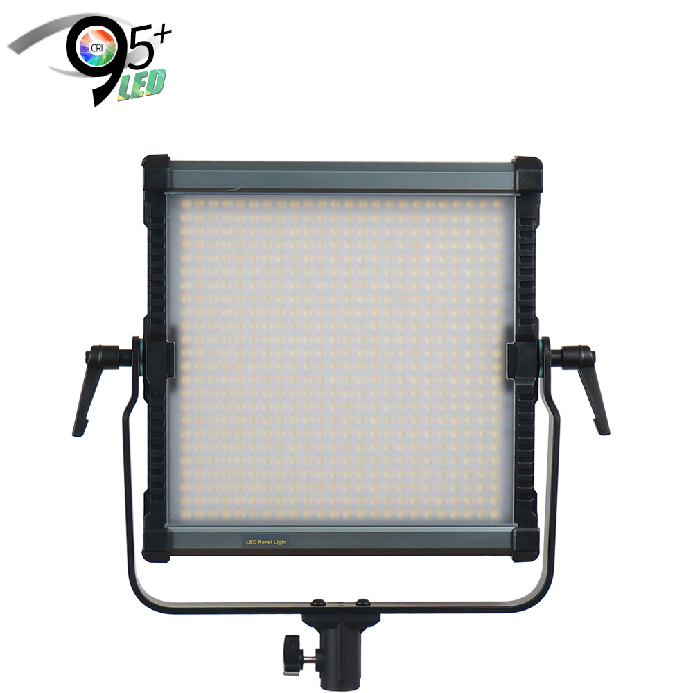 aluminum surface 38W digital display 95 cri video film shooting ultra slim led panel light