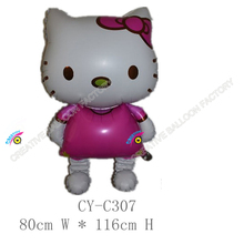 2016 Hot sale big size hello kitty helium balloon giant balloon large size balloon