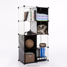 8 Cube assemble plastic cabinet with transparet color/baby toy storage boxes
