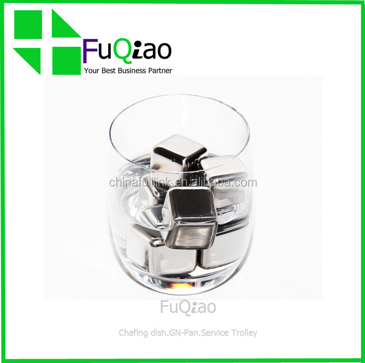 BPA Free Stainless Steel Dice Ice Cube Whisky Stone