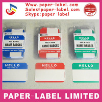 300 HELLO MY NAME IS NAME TAGS LABELS BADGES STICKERS PEEL STICK ADHESIVE