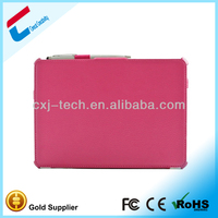 2013 High Quality PU Wallet Leather Case for Ipad Air 5