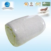 2015 Alibaba hot selling vacuum packed mattress roll up visco memory foam mattress