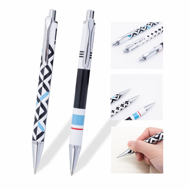 Top quality Personalized metal custom click press action metal pens for sale