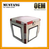Factory Price FRP Material 92L Motorcycle Delivery Box for Scooter with LED Stop Light