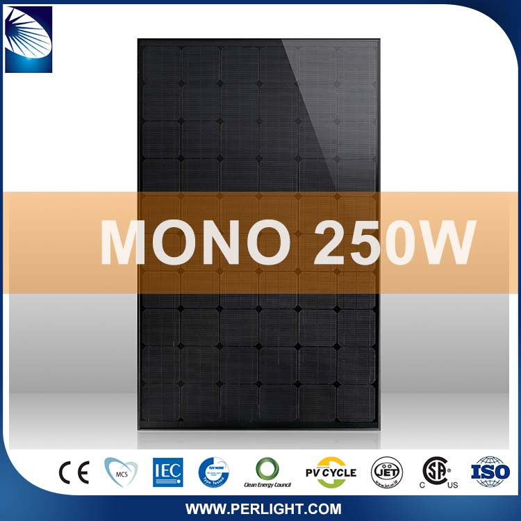 Competitive Price Home Monocrystalline 250W Solar Panel System