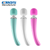 Manufacturer hot selling girl sex av rechargeable personal body massager,10 speed powerful vibrating magic wand massager