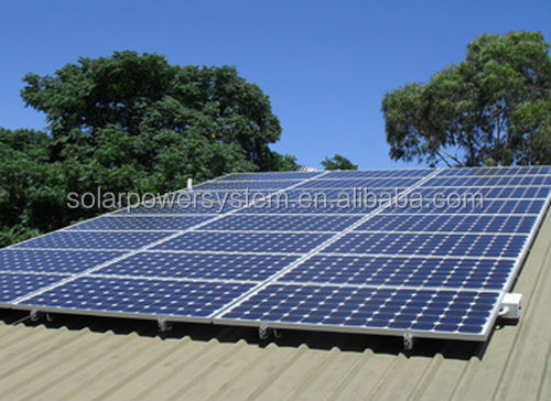 4KW cis pv panel solar power irrigation system ups for home use