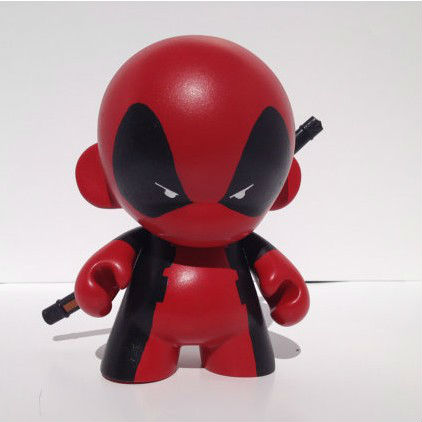 Deadpool custom design Munny with Detachable Sword
