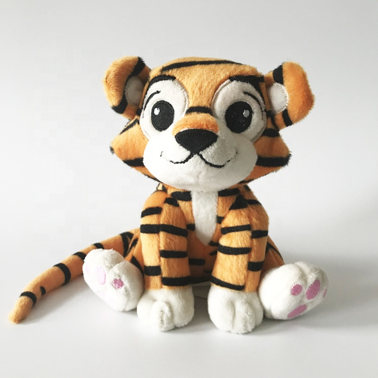 OEM hot sale custom stuffed tiger <strong>plush</strong> toy