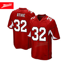 factory supply free design OEM custom american football jersey