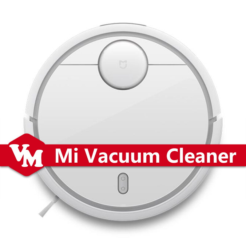 Original Xiaomi Vacuum Cleaner Robot Smart Household Mi Cleaner Robot App Control Automatic Sweeping Dust Sterili Cleaning Robot