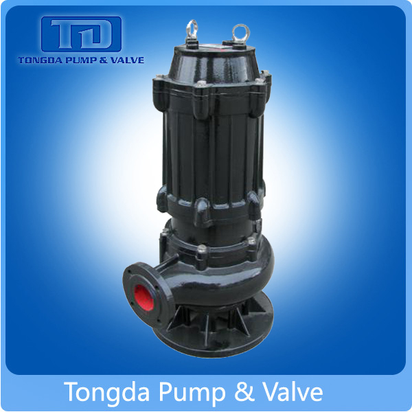 single-suction vertical centrifugal submersible pump, single-stage submersible pump