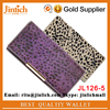 closure leather wallet , fashion high capacity smart wallet pouch, mobile phone ladies purse bags