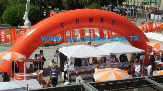 12 MT INFLATABLE ARCH, printed advertising balloon arch