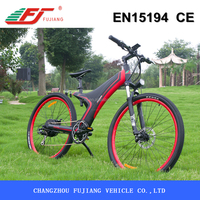 Mountain conqueror 48v 750w singapore electric bicycle