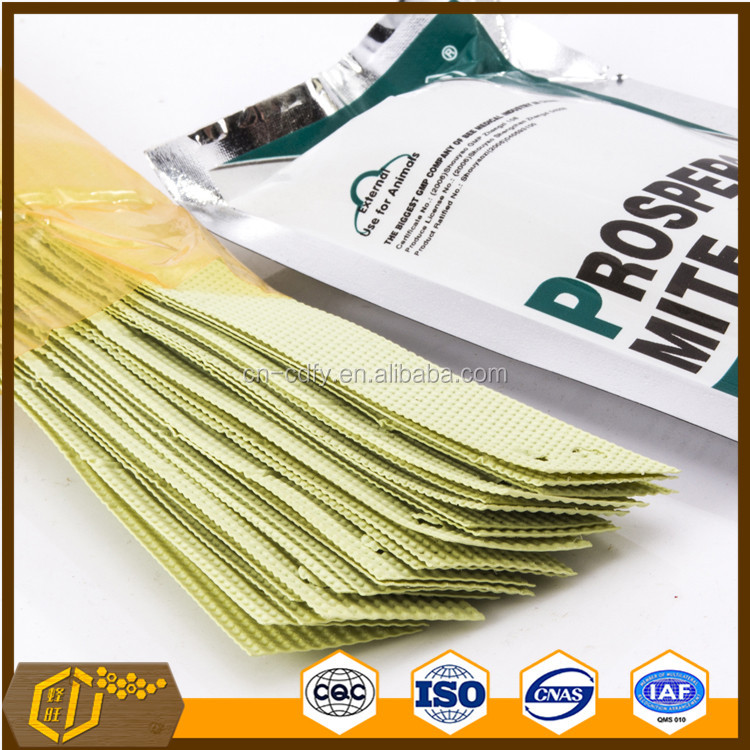 Beekeeping tool Bee Medicine MITE KILLER fluvalinate strip for varroa