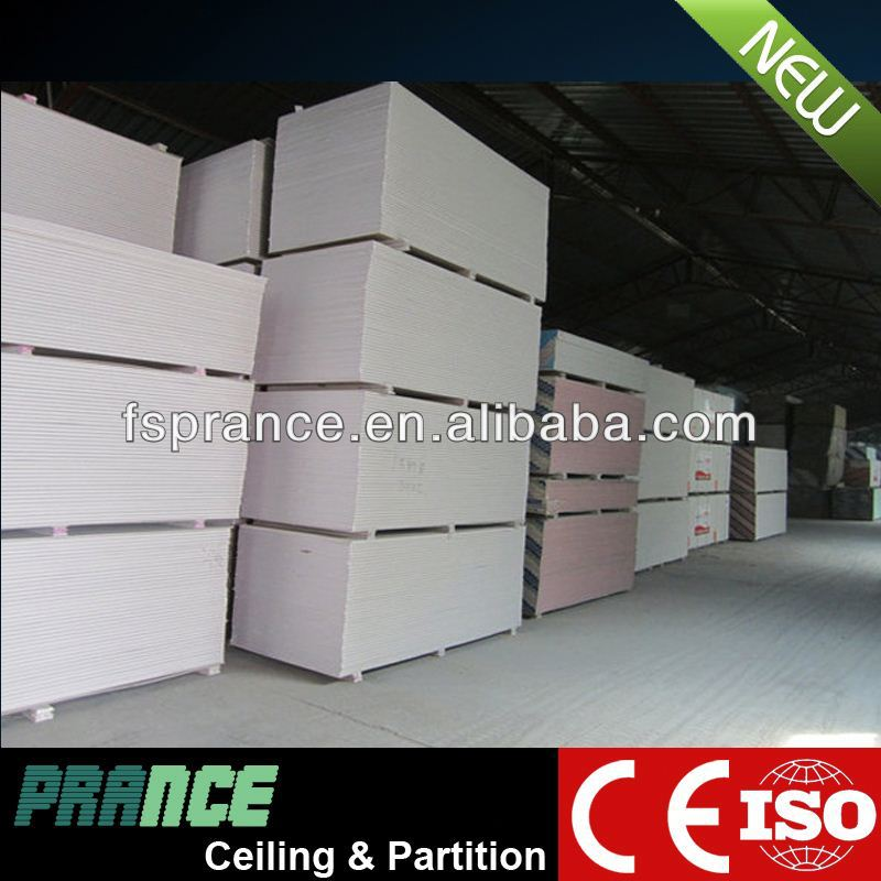 Popular SGS unit weight gypsum board