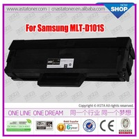 From ASTA for samsung ML-2165W/SF-760P/SCX-3405FW/SCX-3401/ML-2161 printer d101 toner cartridge