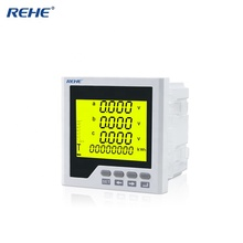 Factory Price LCD Display Three Phase Current Voltage Frequency Multi-function Monitoring <strong>Meter</strong> RH-3UIF3Y