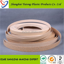 plastic window/wood furniture edge trim