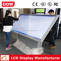 Large Touch Screen 65inch Panel All In One Advertising Machine Kiosk