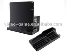 Multifunctional Vertical Console Stand Holder for Sony Playstation 3 Slim