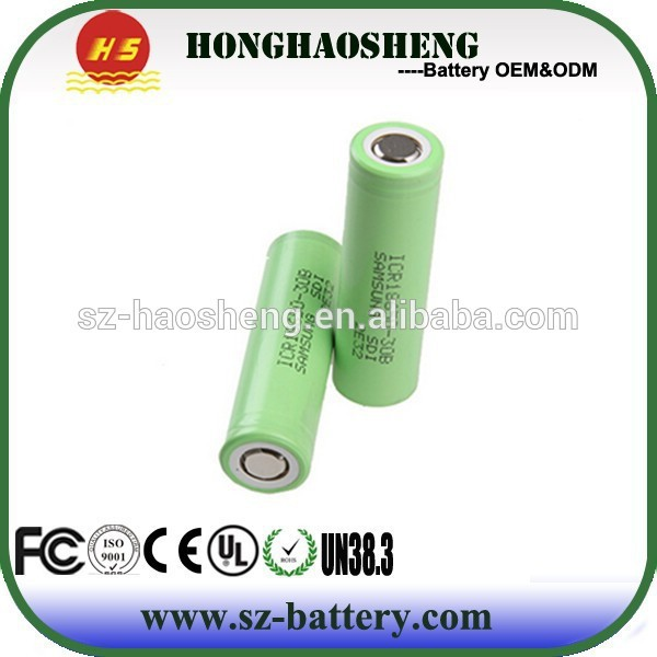 Hot Sales Authentic Lithium Ion 18650 Battery 3.7V 2000mAH In China