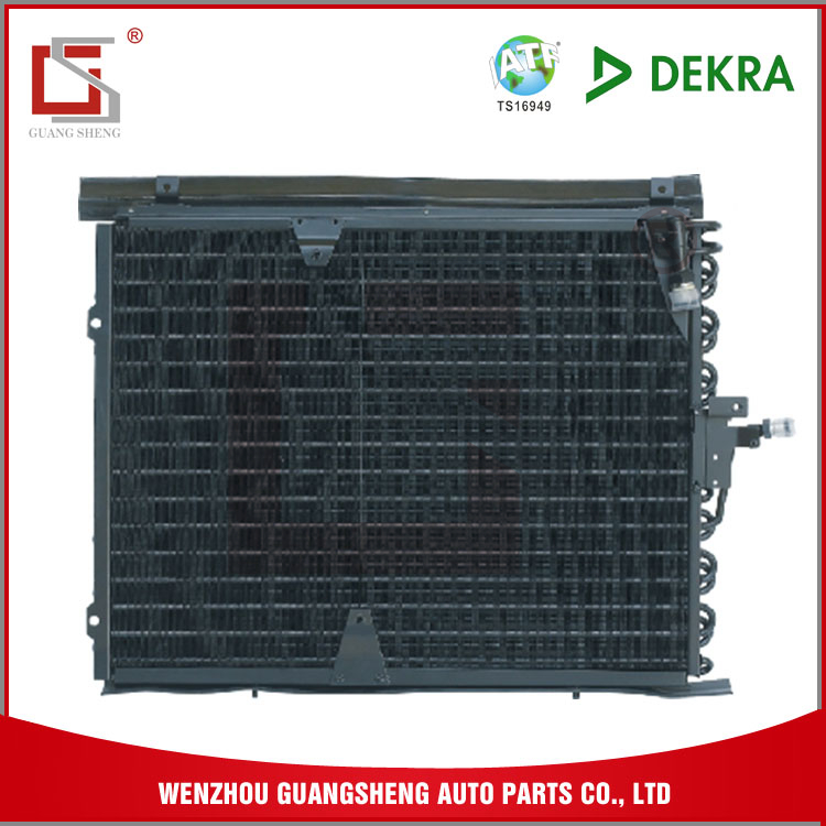 GUANGSHENG OEM Car Body Part Air Conditioning Condenser For 124 Auto Parts With Flat Fin Style