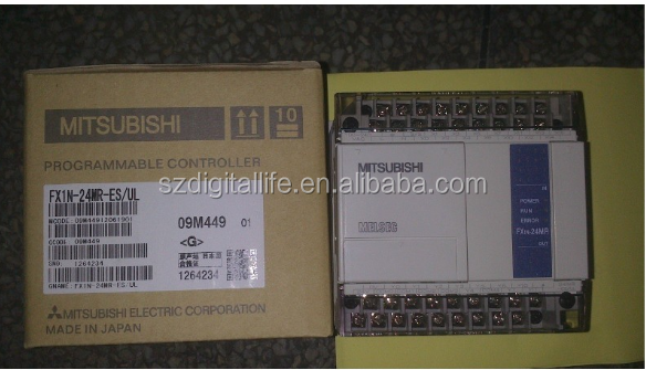 NEW&ORIGINAL FX1N-24MR-ES/UL PLC FX1N-24MR-ES/UL PROGRAMABLE CONTROLLER FX1N-24MR-ES/UL FOR MIT(China (Mainland)) NEW&ORIGINAL F