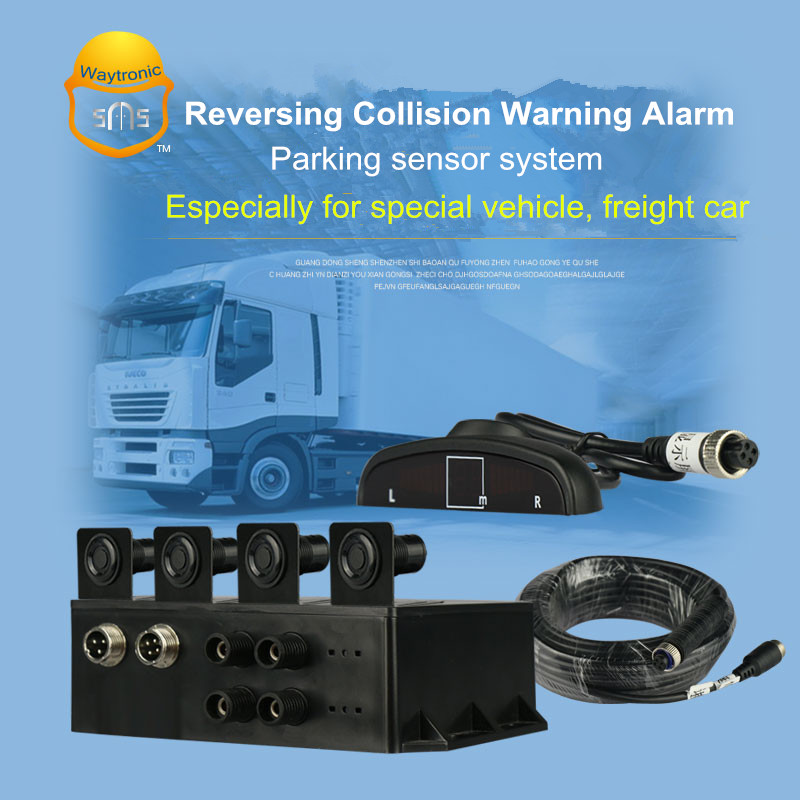 Reversing radar alert system Car reverse parking sensor for collision avoidance