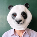 Funny Adult Party Panda Face Natural Latex Masks