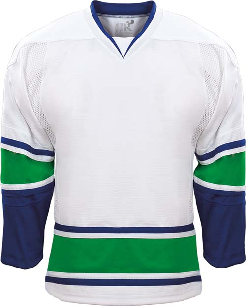 Vancouver Canucks custom made youth ice hockey jerseys Mens 100% polyester wholesale blank hockey jersey