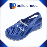 good quality design eva wood clog for child with sport style