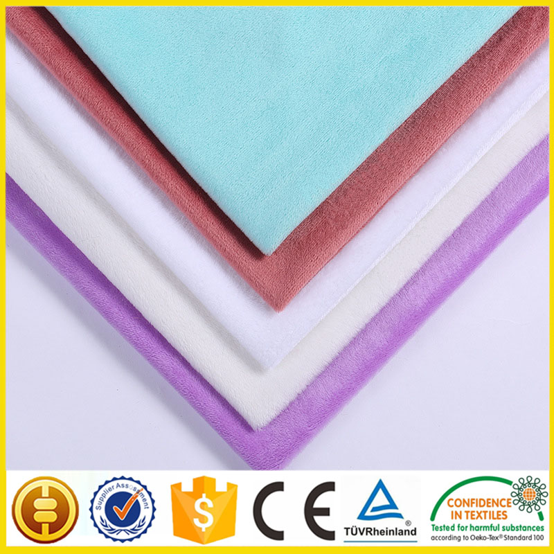 hot sale french velvet fabric manufactory