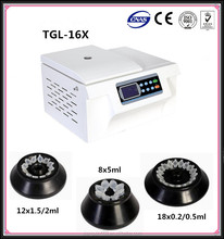 TGL-16X Medical Equipment High Speed Cold Centrifuge