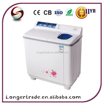 China top loading 9.6kg semi-automatic twin tube washing machine