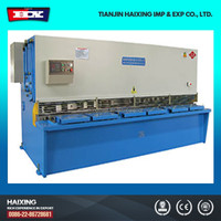 QC11Y-4X3200 hydraulic plate cutter,cnc swing beam or guillotine shearing machine