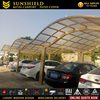 Custom Home Delivery Polycarbonate Porch Roof 2 Car Carport Aluminum Car Parking Shade