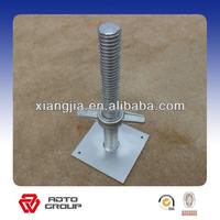 Scaffolding adjustable base jack in ladder & scaffolding parts