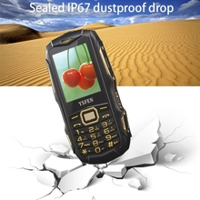 Drop shipping Y809 Triple Proofing Phone, Dual SIM IP67 Waterproof Shockproof Dustproof FM, TF (Camouflage)