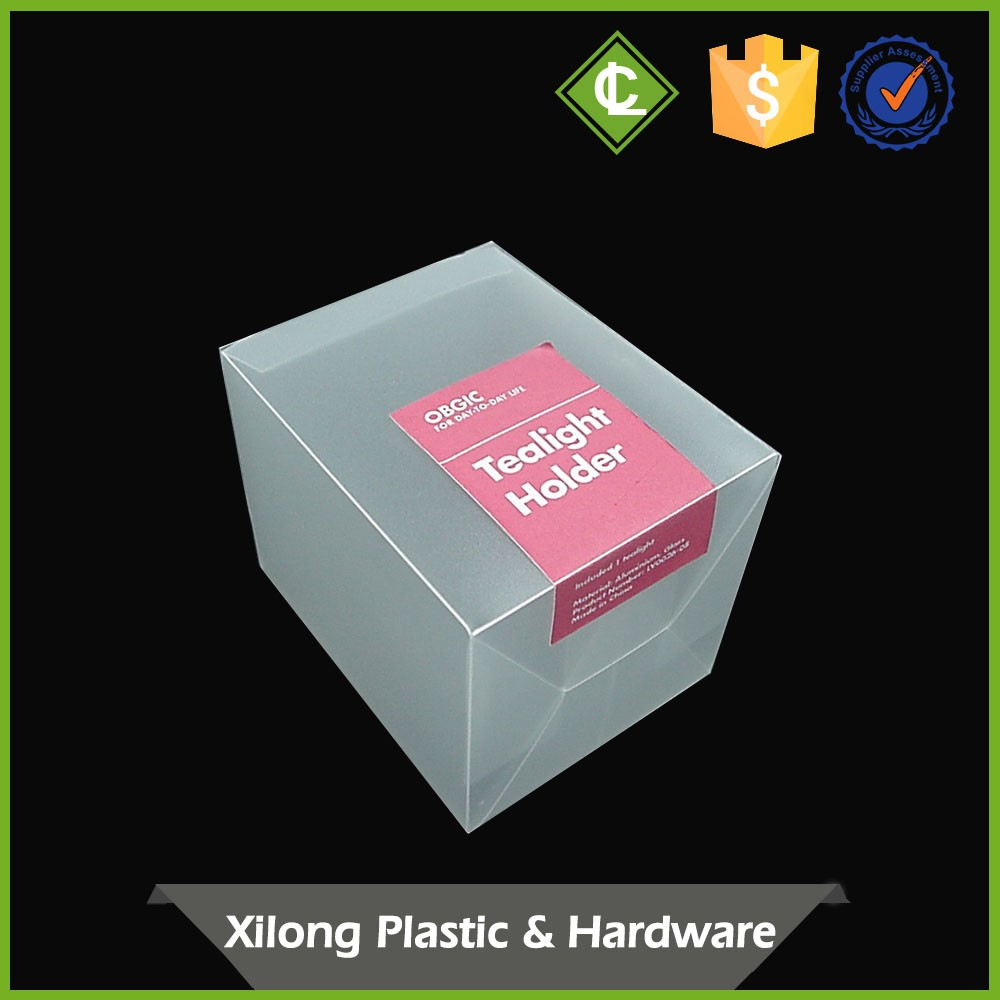 Oem Service 100% Warranty Simple Design Suit Packing Large Gift Clear Display Box Hasp