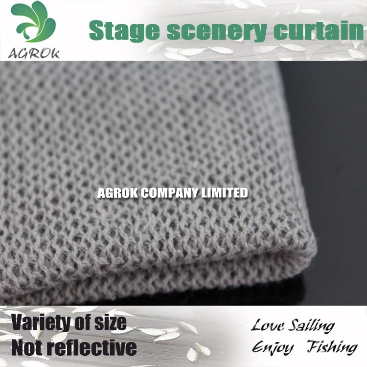 1.6m Cotton Polyester Blend High Density Stage Scenery Cloth/Curtain