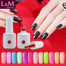 manufacturer wholesale popular soak off uv neon color nail gel polish
