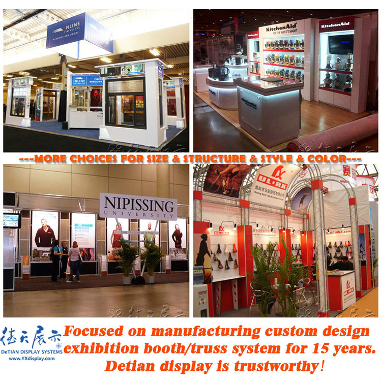 Exhibition Booth Price : Low price portable exhibition booth display with media