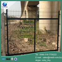Pvc coated framework wire mesh fencing 1.8*3m