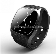 Waterproof Smartwatch M26 Bluetooth Smart Watch With LED Alitmeter Music Player Pedometer For IOS Android Smart Phone